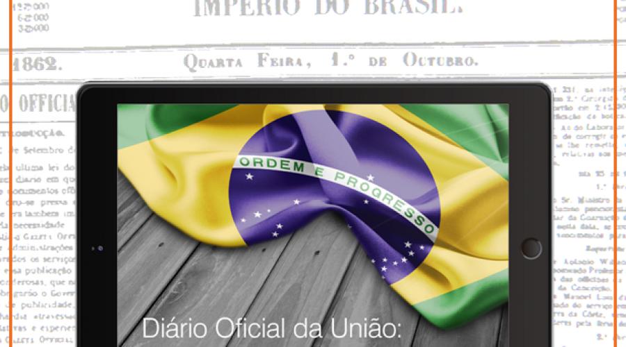 Depois de 155 anos impresso, Diário Oficial migra para o digital
